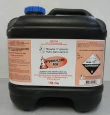 Hydrochloric Acid 25ltrs Ph Down Minus Thailand Swimming Pool Shop