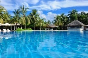 A swimming pool in Thailand